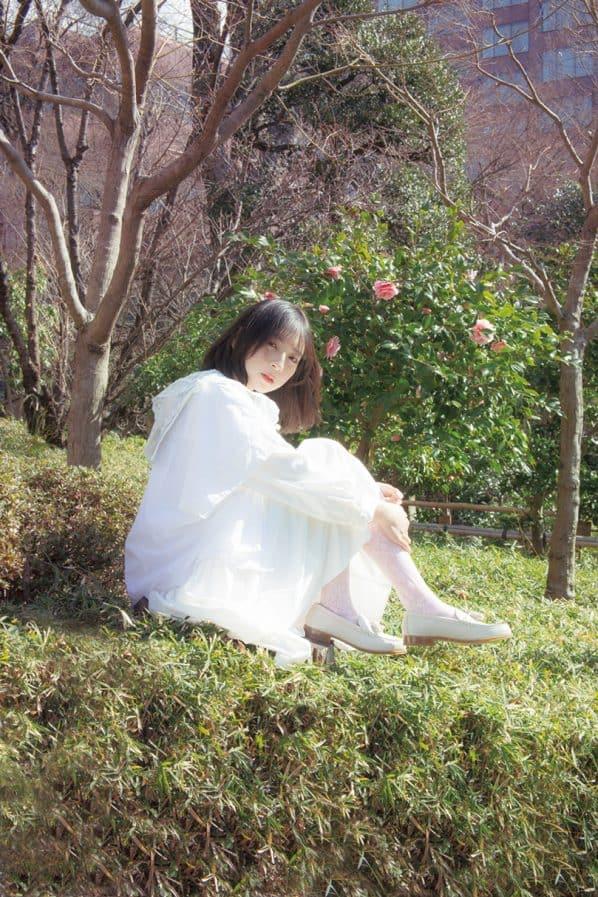 金村美玖が着るホワイトコーデ