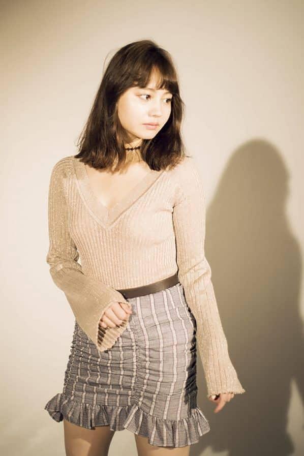 NANAMIのお色気ガーリーファッション